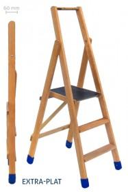 Plateforme ou escabeau en bois