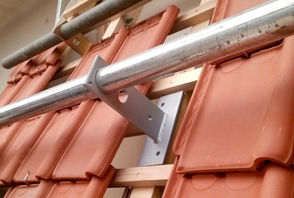 ancrages permanents de toiture couverture daforib s curit. Black Bedroom Furniture Sets. Home Design Ideas