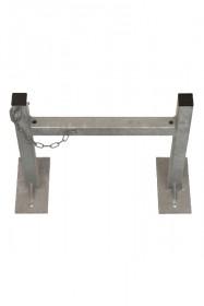 Barre d'appui d'échelle à verrouillage (pour bâtiment industriel)