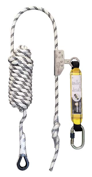 Antichute coulissant sur corde