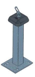POTELET E.P.I. hauteur 500 mm