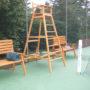 chaise club tennis