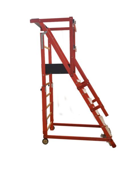 Escalier Rayonnage Isolant Fibre