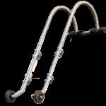 Crochet de faîtage pour échelle alu ou bois